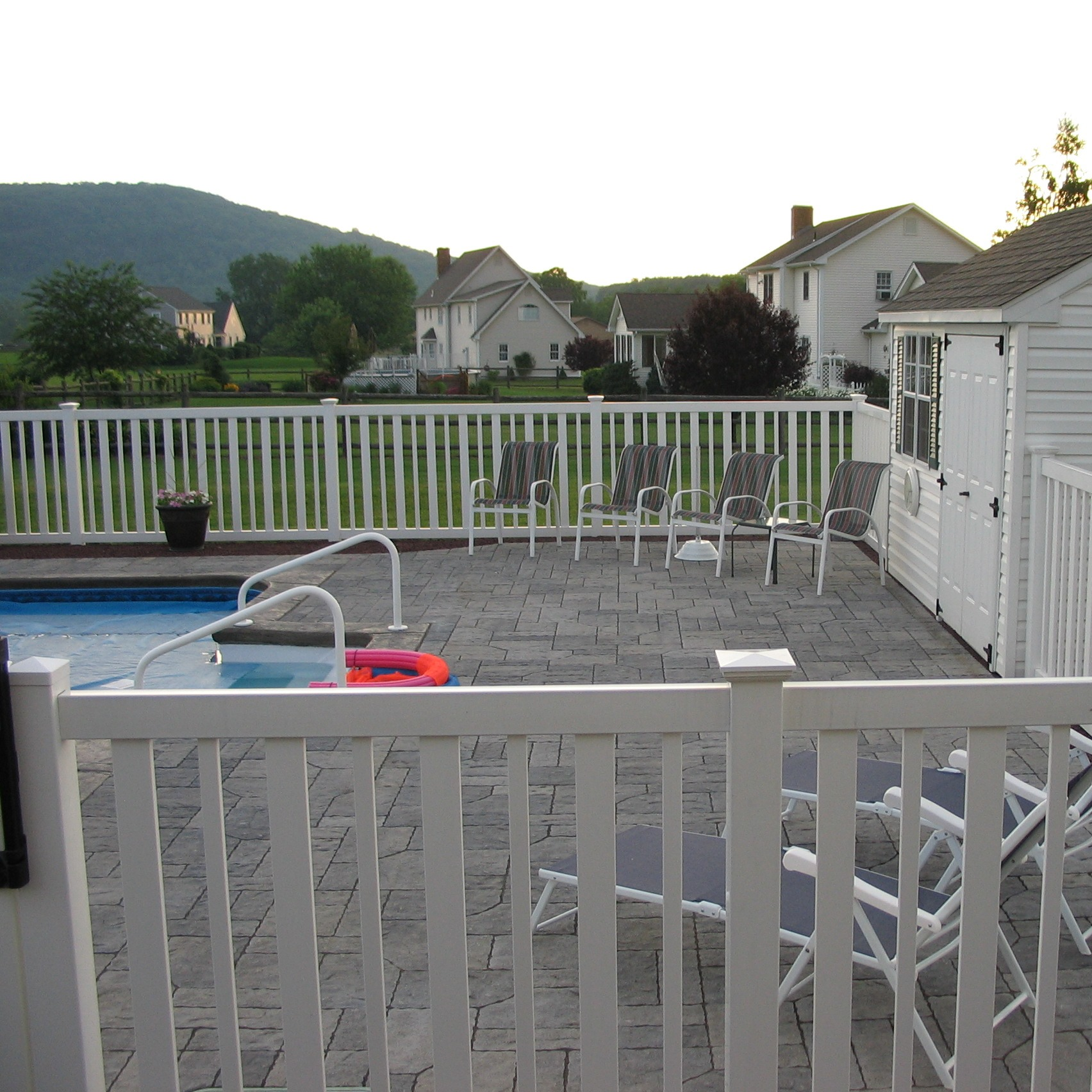 4 PVC Pool Fence Atlantis™