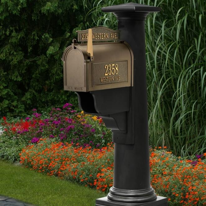 Statesville Mailbox Post