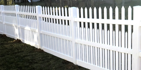 Ashville™ Picket Fence