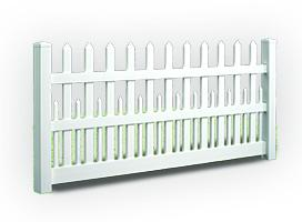 Ashville Picket Fence