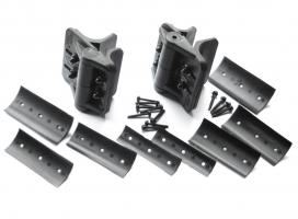 Cornerstone Self-Closing Adjustable Hinges For Round Posts