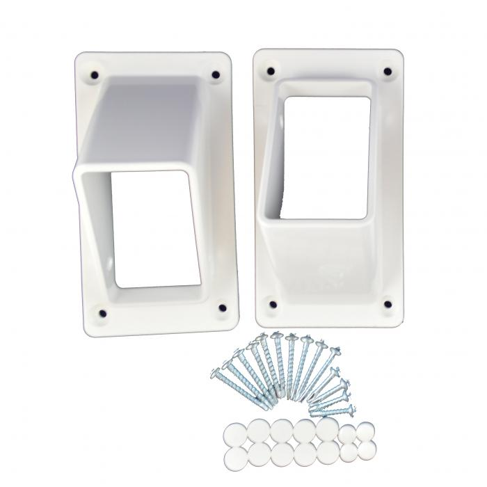 "Classic Brackets - 2"" x 3.5"" 1-Piece Stair Set"