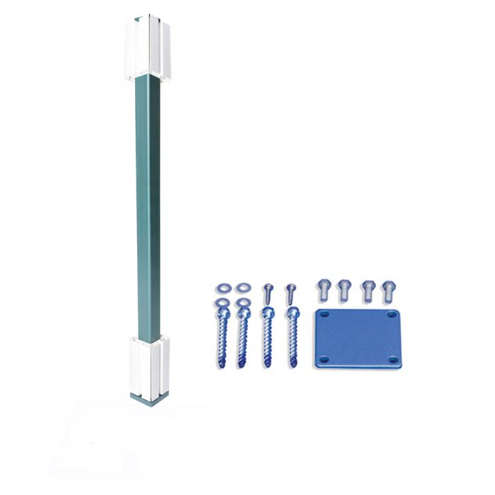 """Post Mounts - 4"""" Post Mount with Concrete Fasteners"""