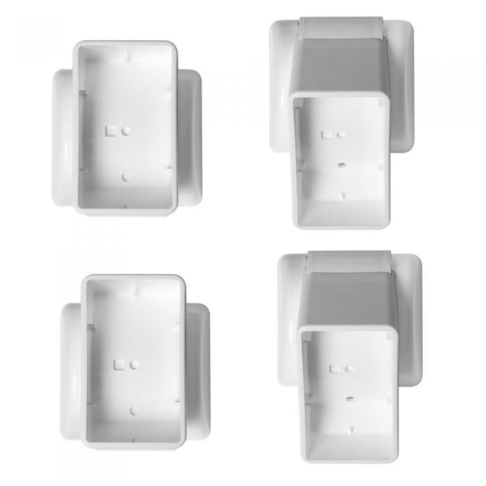 "Classic & Premium Brackets - 2"" x 3.5"" Vertical Adjustable Set"