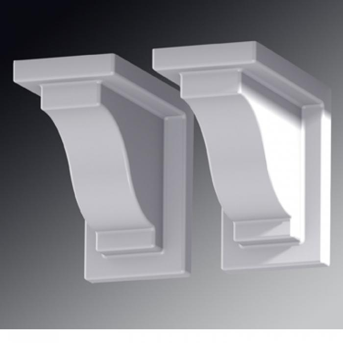 Outdoor Accents - Yorkshire Flower Box Decorative Brackets