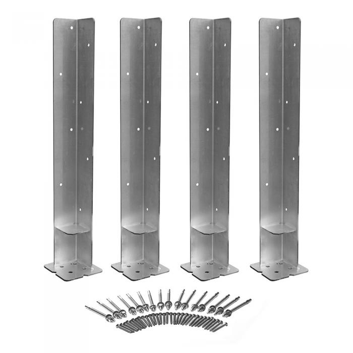 Outdoor Accents - Concrete Mounting Kit - set of 4