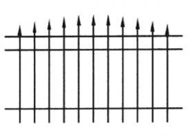 Wilmington Aluminum Fence