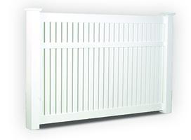 Huntington Semi-Privacy Fence