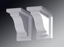 Yorkshire Flower Box Decorative Brackets