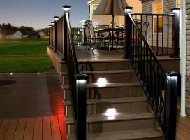 Low Voltage Deck and Rail Lighting