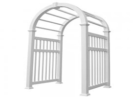 Arched Top Arbors - ELIZABETHAN™