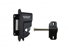 Weatherables Keystone - One Sided Lockable Latch
