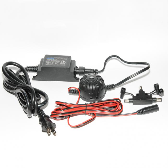Power Supplies - LED Plug and Play - 12 Watt Power Supply with Photo Eye