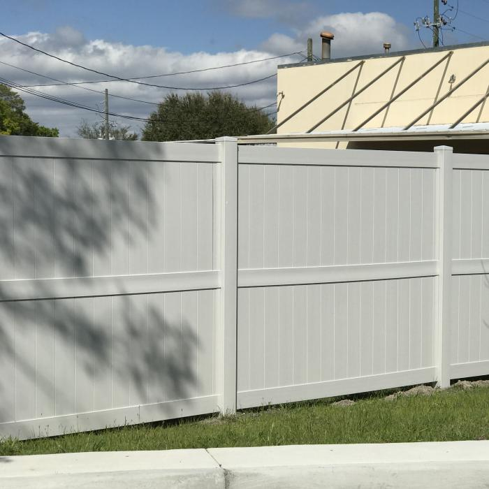 Augusta Privacy Fence - 7' High