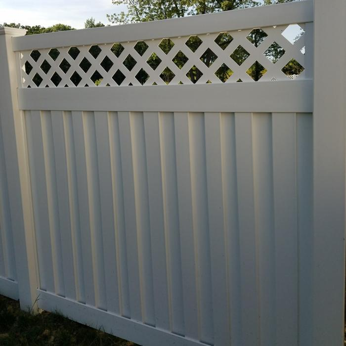 Clearwater Privacy Fence - 5' High