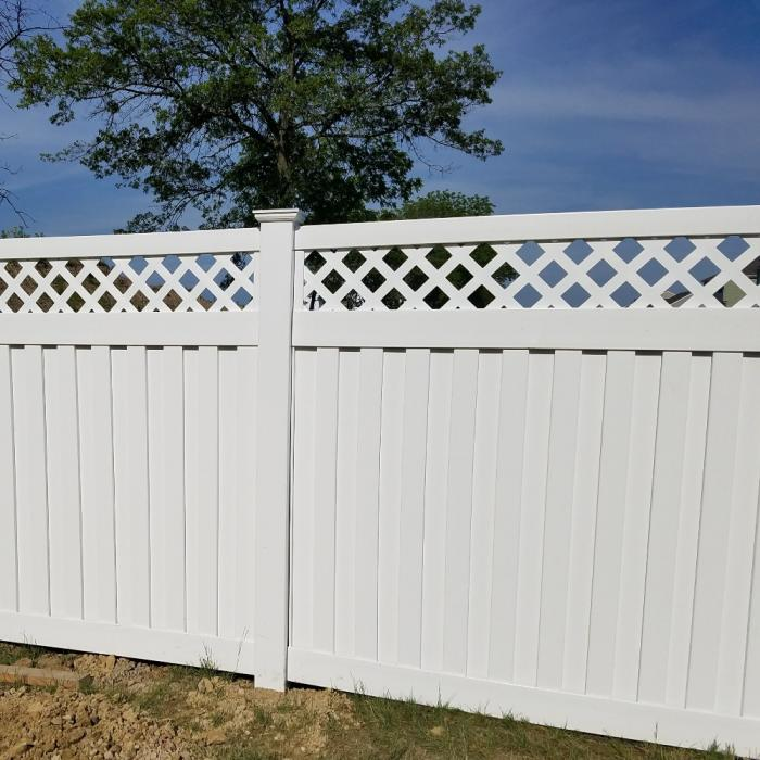 Clearwater Privacy Fence - 6' High