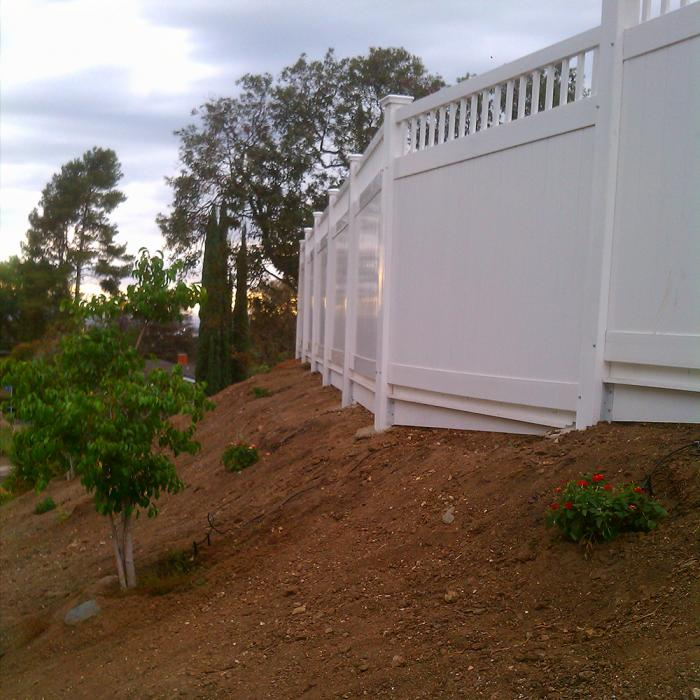 Mason Privacy Fence - 7' High