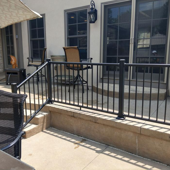 "Stanford Railing - 42"" High"