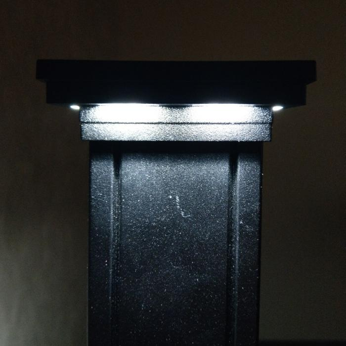 Low Voltage LED Post Caps - Ornamental Downward
