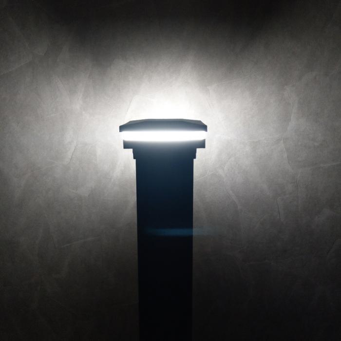 Low Voltage LED Post Caps - Ornamental Lens