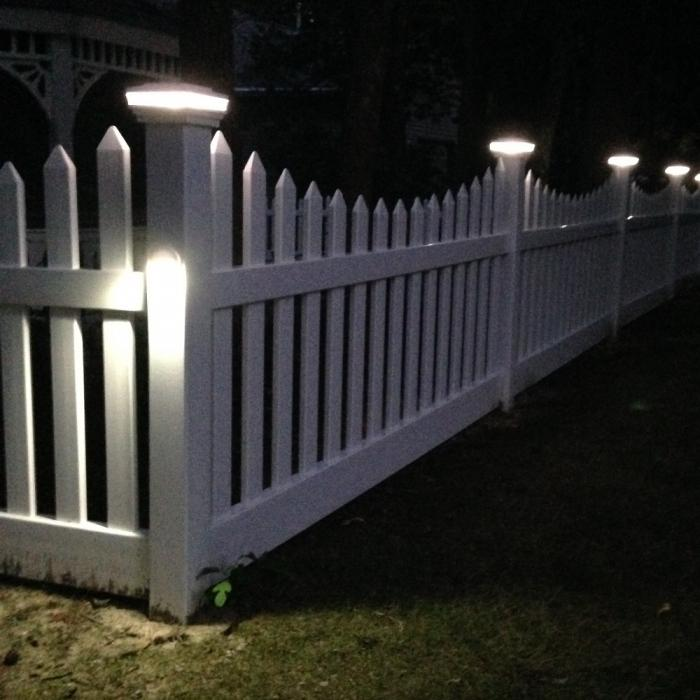 Low Voltage Deck and Rail Lighting - Dome Side Light