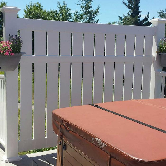 Glendale Semi-Privacy Fence - 6' High