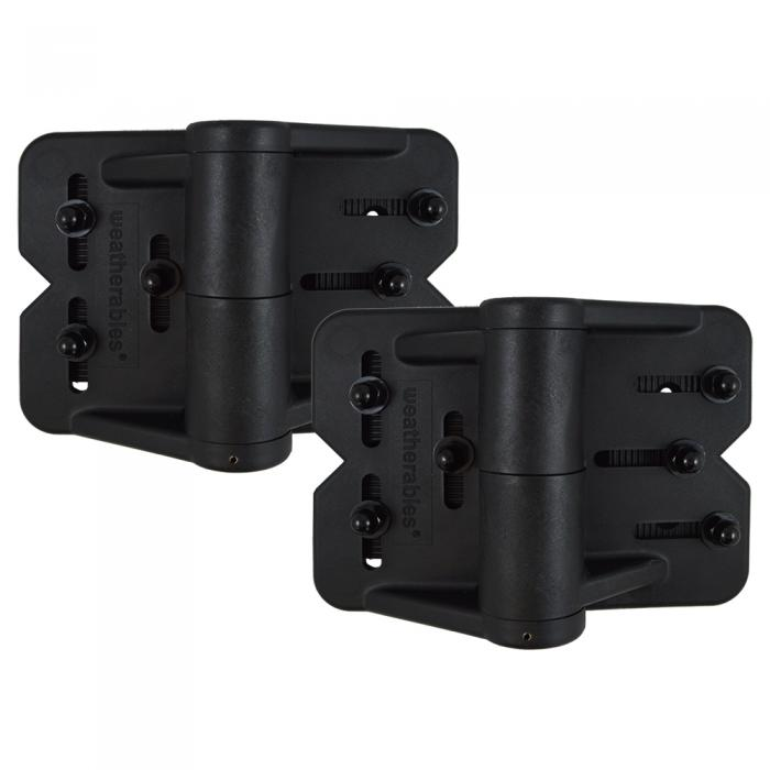 Gate Hinges - Weatherables Cornerstone Heavy Duty Multi-Adjust Hinges