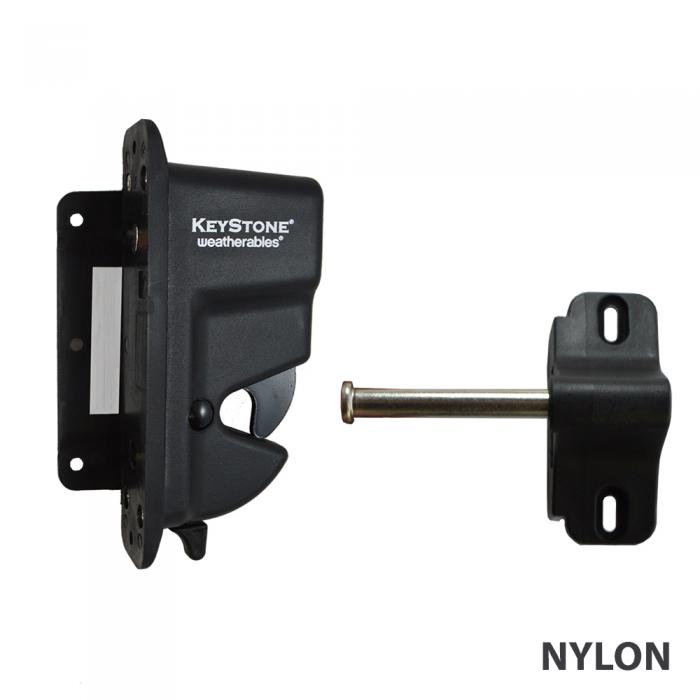 Gate Latches - Keystone Advantage - One Sided Lockable Latch