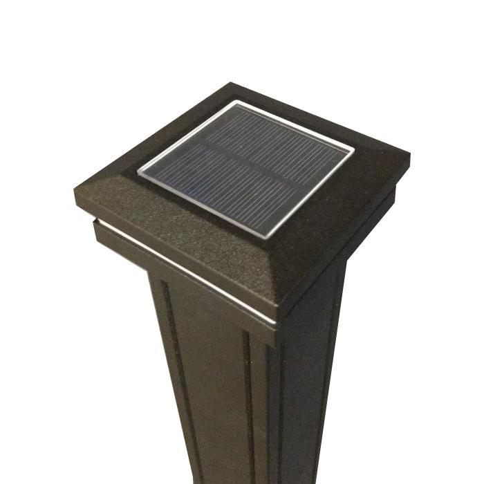 Solar Post Caps - Ornamental Lens Solar