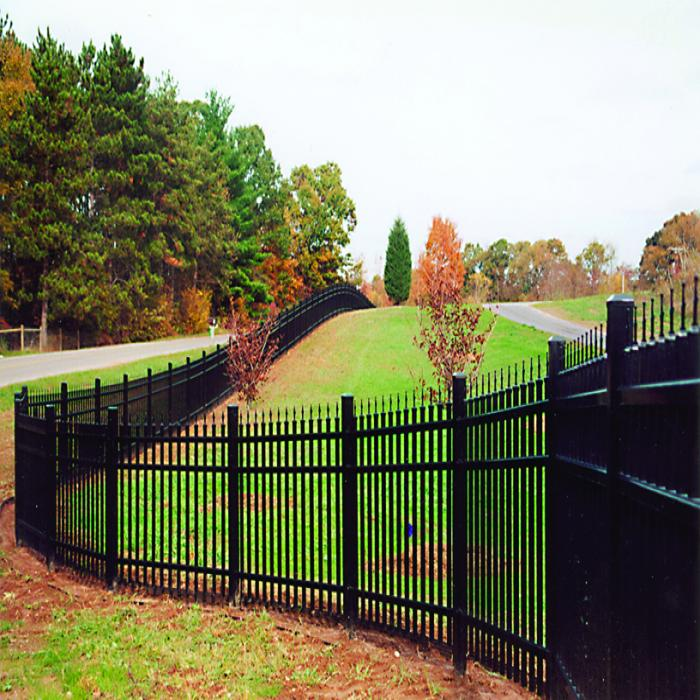 Glouster Aluminum Fence - 4' High