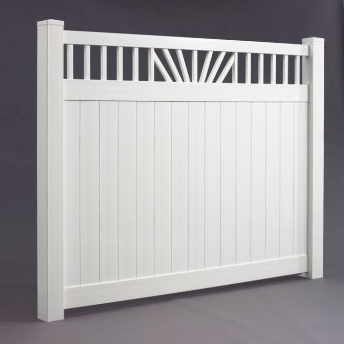 Annapolis Privacy Fence - 5' High