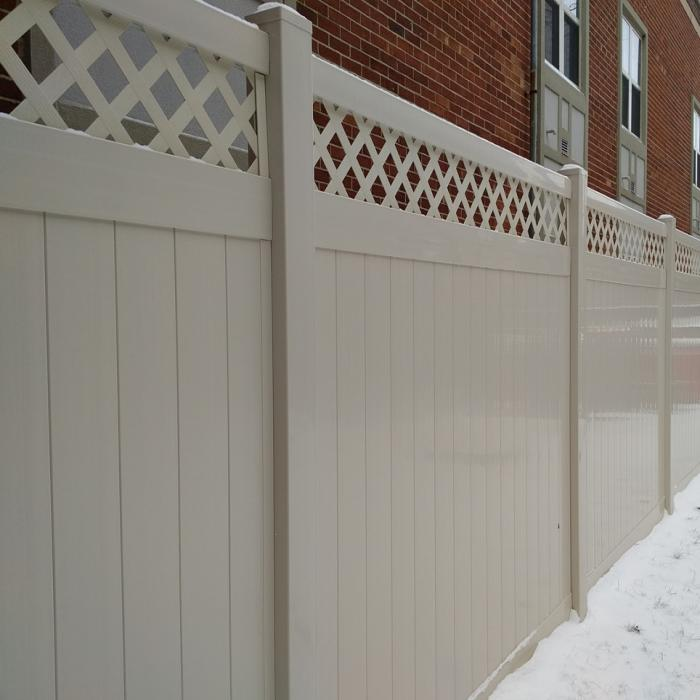 Ashton Privacy Fence - 6' High
