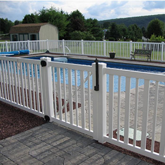 Atlantis Pool Fence - 4' High