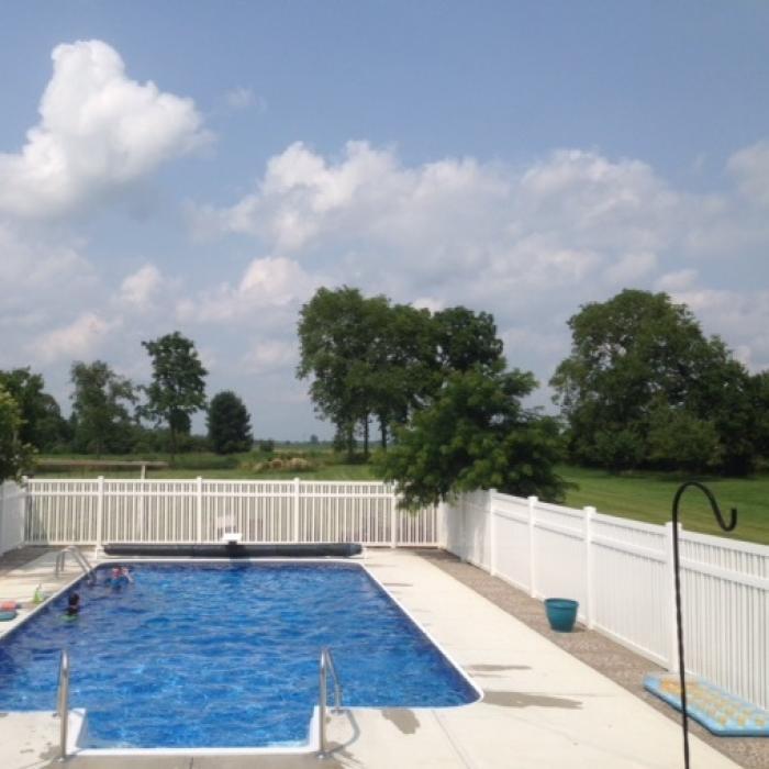 Atlantis Pool Fence - 5' High