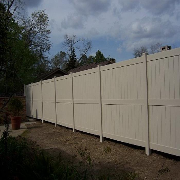 Augusta Privacy Fence - 6' High