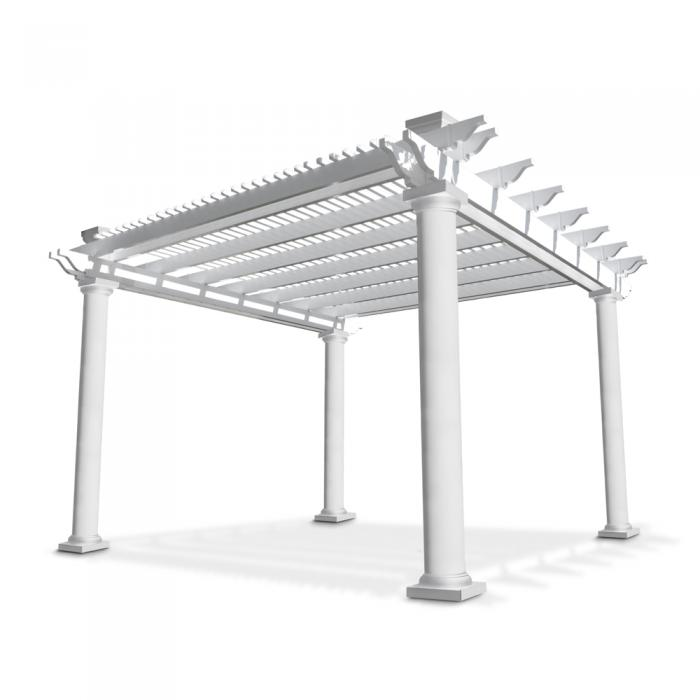 Freestanding Pergolas - Bradenton (with round posts)