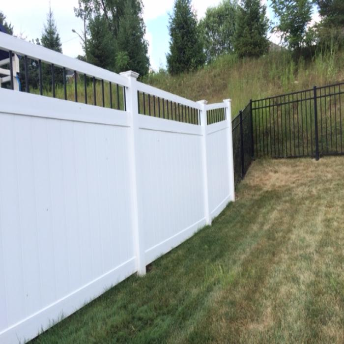 Bradford Privacy Fence - 6' High