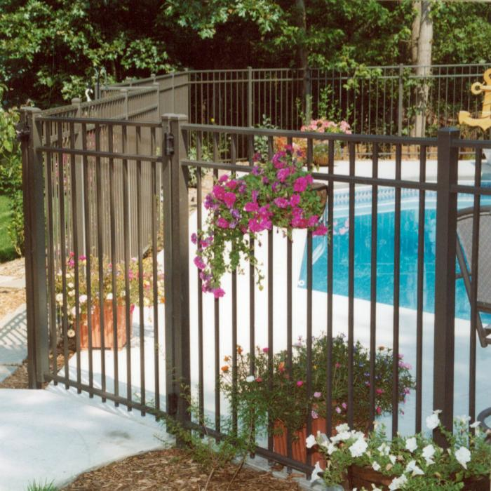 Mansfield Aluminum Fence - 5' High