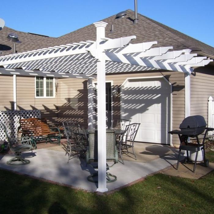 "the westona""¢ freestanding pergola patio cover"