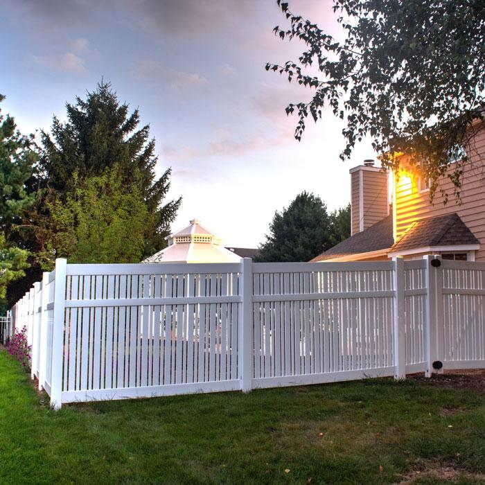 Davenport Semi-Privacy Fence - 6' High