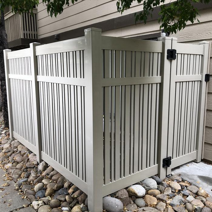 Davenport Semi-Privacy Fence - 5' High