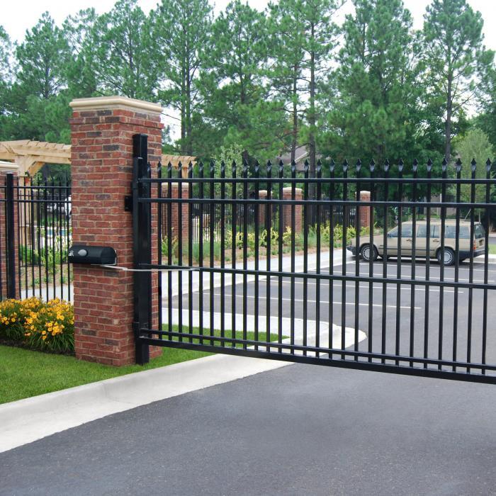 Glouster Aluminum Fence - 5' High