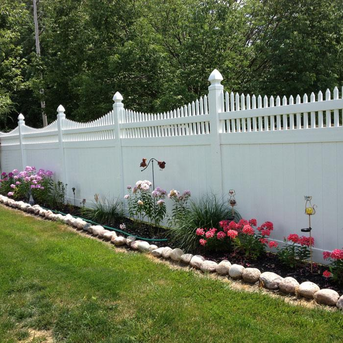 Halifax Privacy Fence - 5' High