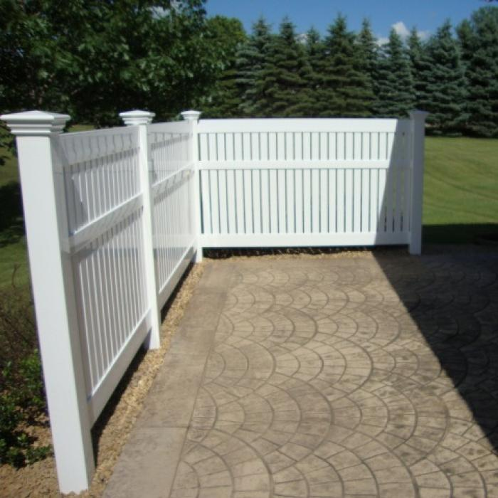 Huntington Semi-Privacy Fence - 5' High