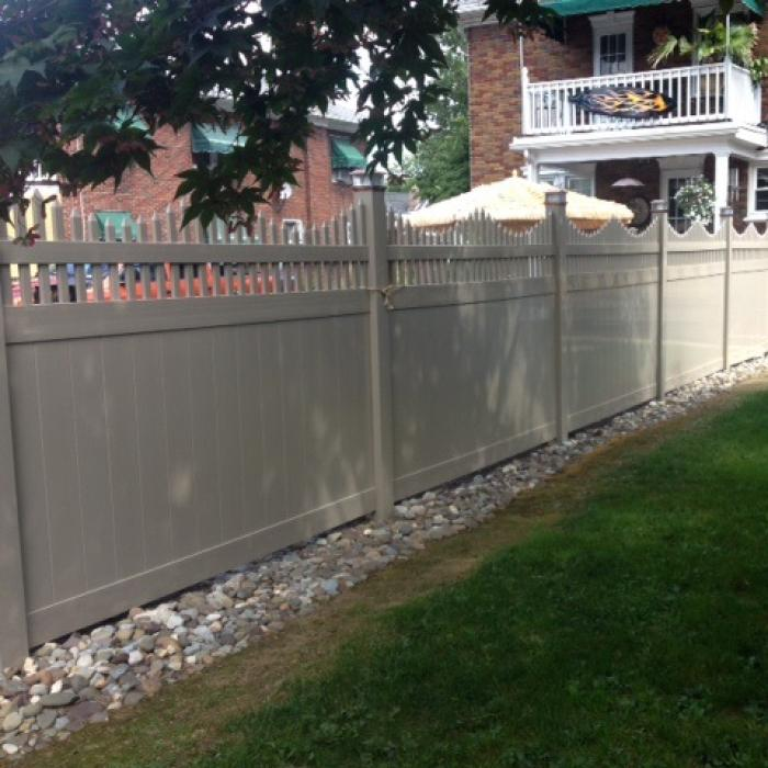 Louisville Privacy Fence - 5' High