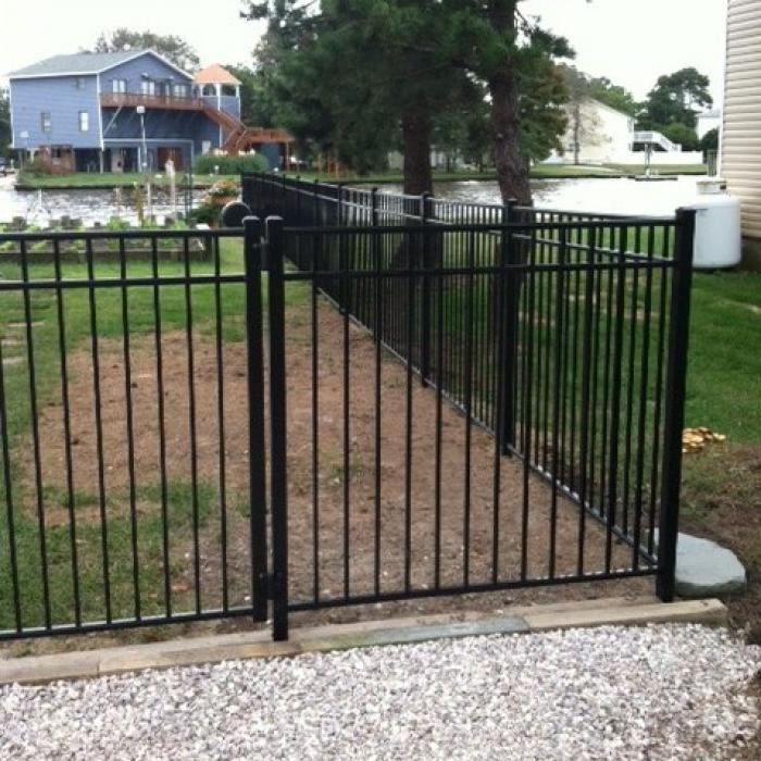 Mansfield Aluminum Fence - 4' High