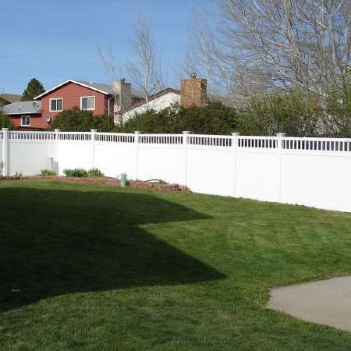 Mason Privacy Fence - 6' High