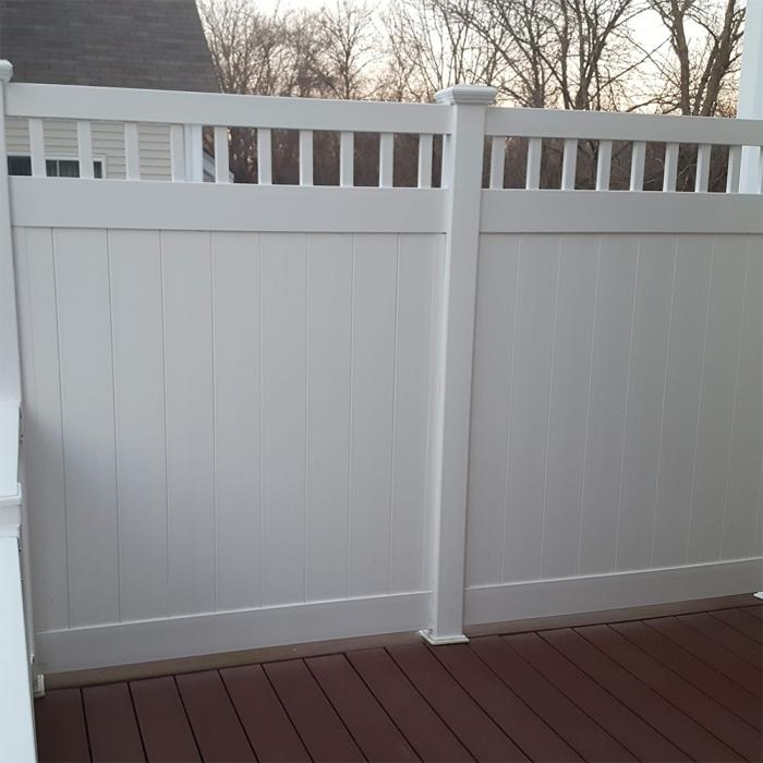 Mason Privacy Fence - 5' High