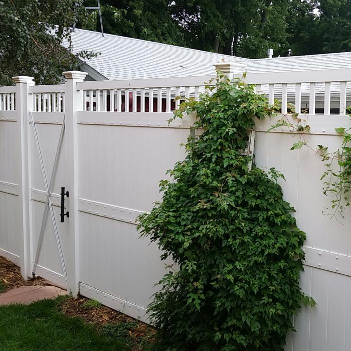 Mason Privacy Fence - 8' High
