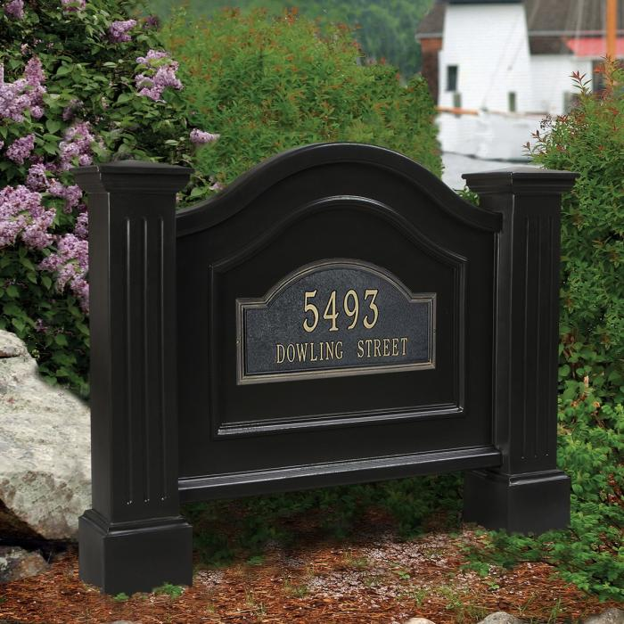 Address Posts and Signs - Nantucket